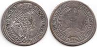 Schlesien-Württemberg-Oels 15 XV Kreuzer Sylvius Friedrich 1664-1697