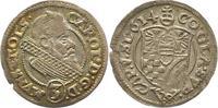 Schlesien-Münsterberg-Öls 3 Kreuzer Karl II. 1587-1617.