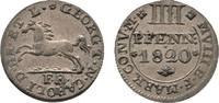 Braunschweig-Wolfenbüttel 4 Pfennig Karl 1815-1830