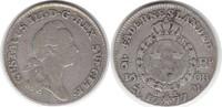 Schweden 1/6 Riksdaler Gustav III. 1/6 Riksdaler 1777 OL