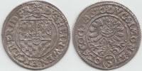 Altdeutschland Kipper 3 Kreuzer Schlesien-Münsterberg-Öls Heinrich Wenzel und Karl Friedrich 1617-1639