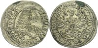 Schlesien Württemberg Öls 3 Kreuzer Sylvius Friedrich, 1664-1697