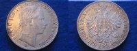 Österreich 1 Gulden Florin Österreich 1 Gulden Florin 1858 V
