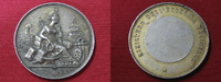 """Italien  Medaille """"Ministero della Economia Nazionale"""" Silber"""