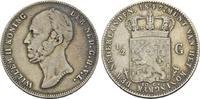 Niederlande 1/2 Gulden Wilhelm II., 1840-1849