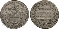Ulm, Reichsstadt Silberabschlag von den Stempeln des Duka