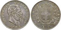 Italien 5 Lire Victor Emanuel II., 1861-1878