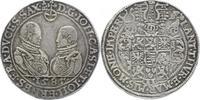 Sachsen-Alt-Gotha (Coburg-Eisenach) Reichstaler Johann Casimir und Johann Ernst 1572-1633.