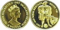 Falkland Inseln 2 Pounds Gold