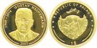 Palau 1 Dollar Gold Republik seit 1995.