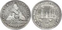 Sachsen-Albertinische Linie Silbermedaille Friedrich August I. 1694-1733.