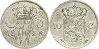 Niederlande-Königreich 10 Cents Wilhelm I. 1815-1840.