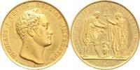 Russland Vergoldete Bronzemedaille Nikolaus I. 1825-1855.