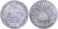 Mexiko 8 Reales Republik seit 1870.