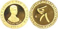 Spanien 10 000 Pst. Gold Juan Carlos I. 1975-2014.