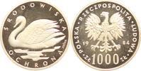 Polen 1000 Zloty Probe Volksrepublik 1952-1989.