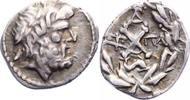 Peloponnes Hemidrachme Liga 370-146 v. Chr..