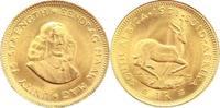 Südafrika 1 Rand Gold Republik seit 1960.