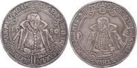 Sachsen-Alt-Weimar Reichstaler Friedrich Wilhelm und Johann 1573-1602.