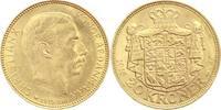 Dänemark 20 Kronen Gold Christian X. 1912-1947.