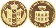 Niue 250 Dollars Gold Unter Verwaltung Neuseelands seit 1922.