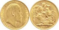 Australien One Pound Gold Edward VII. 1901-1910.