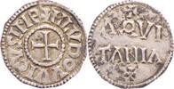 Karolinger Denar Ludwig der Fromme 814-840.