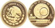 Mexiko 500 Pesos Gold Republik seit 1870.