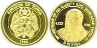 Tonga 10 Pa'anga 1998. Zum 80. Geburtstag des  Topou IV seit 1965.
