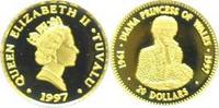 Tuvalu 20 Dollars Gold