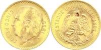Mexiko 5 Pesos Gold Republik seit 1870.