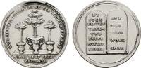 HAMBURG Silberabschlag von den Stempeln des Duka
