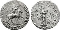 INDIA AR-indische Tetradrachme Scythen. Azes II., 10-30 n. Chr.