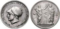 FRANKREICH PROBE - Silberne Zwittermedaille (v. Man Napoléon I, 1804-1814, 1815.