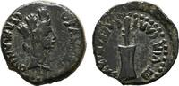 IBEROKELTEN Æ-Quadrans (18-17mm) Germanicus und Drusus Caesar, 4-19.