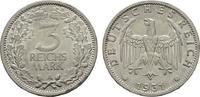 WEIMARER REPUBLIK 3 Reichsmark