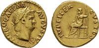 RÖMISCHE KAISERZEIT AV-Aureus Nero, 54-68.