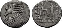 PARTHIA BI-Tetradrachmon, Phraatakes, 2 v. - 4 n. Chr.