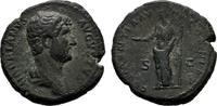RÖMISCHE KAISERZEIT Æ-Dupondius Hadrianus, 117-138.