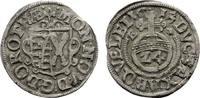 QUEDLINBURG 1/24 Taler (Groschen) Dorothea von Sachsen, 1610-1617.