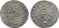 SACHSEN Zinsgroschen Friedrich III. der Weise, Johann und Georg, 1492-1493.
