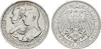 Mecklenburg-Schwerin 3 Mark Friedrich Franz IV., 1897-1918.