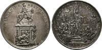 PORTUGAL Silbermedaille Josef I., 1750-1777.
