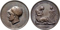 FRANKREICH - WIEN Bronzemedaille (L.Manfredini) Napoléon I, 1804-1814, 1815.