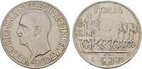ITALIEN 20 Lire Victor Emanuel III., 1900-1946.