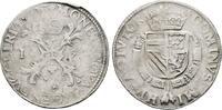 NIEDERLANDE Reichstaler nach burgundischem Fuß Herzogtum. Philipp II. von Spanien, 1555-1598.