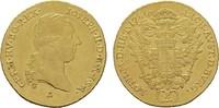 RÖMISCH-DEUTSCHES REICH 2 Dukaten Josef II., 1765-1790.