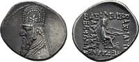 PARTHIA AR-Drachme, Mithradates II., 123-88 v. Chr.