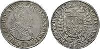 RÖMISCH-DEUTSCHES REICH Taler Ferdinand II., 1618-1637.