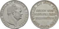 BRANDENBURG-PREUSSEN Ausbeutetaler Friedrich Wilhelm IV., 1840-1861.